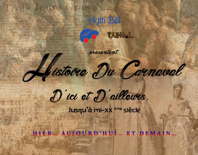 HISTOIRE DU CARNAVAL