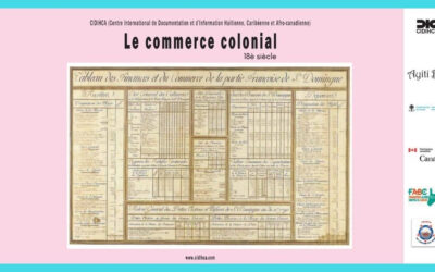 10CORR-20x11_Cap-Haïtien_2020_Cap_Français_jusqu_au XIX siècle Commerce Colonial