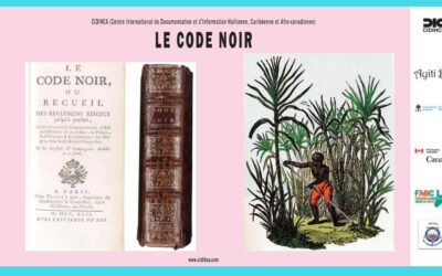 8CORR-20x11_Cap-Haïtien_2020_Cap_Français_jusqu_au XIX siècle Code Noir